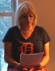 Tara Channtelle Hill (MPC Reading at Joy Center, 2015)